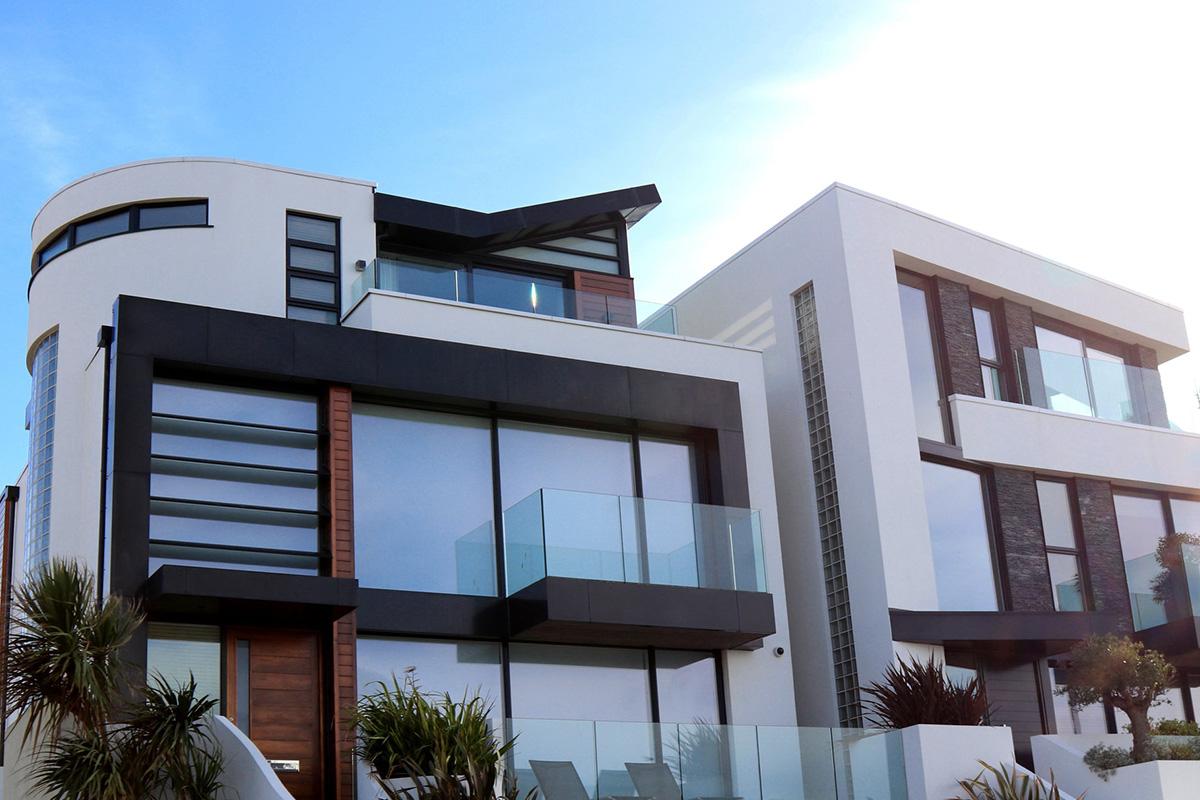 photo extérieur d'une maison design
